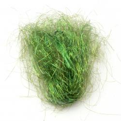 Ангелска коса зелена дъга -10 грама