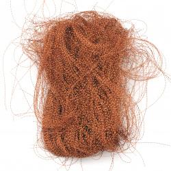 Ангелска коса усукана оранжева -10 грама