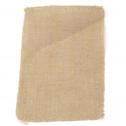 Burlap Base for Application DIY Crafts Decorations, Embroidery 16x25 cm