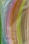 Πλαστικές ταινίες (χαρτί 130 g) 4 mm / 35 cm -10 παστέλ χρώματα - 100 τεμ