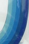 Quilling  Paper Strips (130 g paper) 4 mm / 50 cm - 5 colors blue -100 pcs