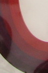 Quilling Paper Strips  (paper 130 g) 6 mm / 35 cm - 4 colors red range -100 pcs