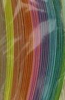 Quilling strips (130 g paper) 6 mm / 50 cm -10 pastel colors - 100 pcs