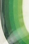 Quilling Paper Strips (130 g paper) 6 mm / 35 cm - 5 colors green -100pcs