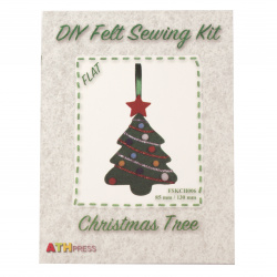 DIY Kit Christmas Tree 85x130 mm