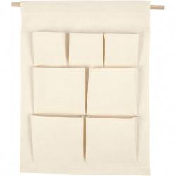 Органайзер за стена текстилен 46x41.5 см Creativ