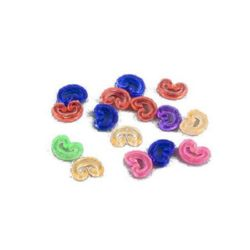 S-Clips for Loom Rubbers, Mixed, ~5 g, ~90 pcs