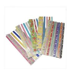 Paper strips for decoration and origami 260 x 12 mm