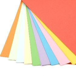 Colored paper A4 for decoration