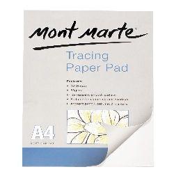 Block of A4 Rice paper 210x297 mm Mont Marte 60 gr / m2 -40 sheets