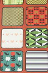 Design paper for scrapbooking book (22.5x30.4 cm) 24 designs x 1 sheet (46.5x31 cm)