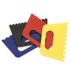 Комплект инструменти шпатули за релеф 4 вида