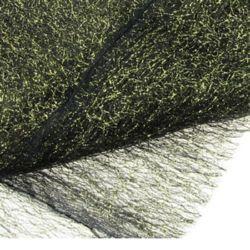 Plasa tip  păianjen cu fir auriu 80x170 cm negru