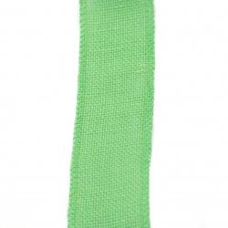 Основа за апликация лента зебло 6x200 см зелена