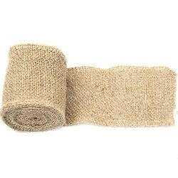 Natural Jute Burlap Ribbon Roll for DIY Crafts Wedding Decoration Handmade 8x300 cm