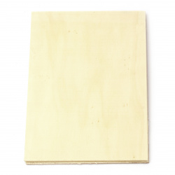 Wooden base 210x150 mm thickness -3 mm -2 pieces