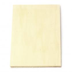 Дървена основа 210x150 мм  дебелина -3 мм -2 броя