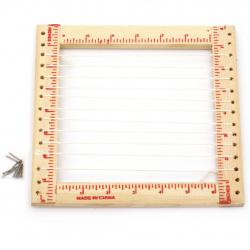 Стан дървен за тъкане 200x200 мм
