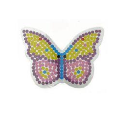 Шаблон за мозайка пеперуда 93x126 мм