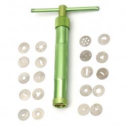 Extruder pentru argila tip metalic cu 20 de piese