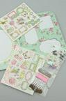 Комплект материали за декорация и рамка за 4 снимки 14x18 см