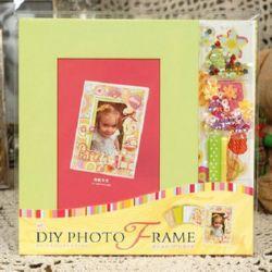 Комплект материали за декорация и рамка за снимка 16.4x21.5 см party