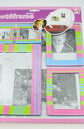 Self-adhesive photo frames cardboard -4 pieces