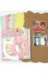 DIY Scrapbook Album Decoration with 6 pages Memories