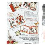 Комплект за направа и декорация на албум 4 страници Love