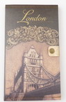 Notepad with Button Vintage London 11x18.5 cm ± 70 sheets