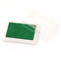 Pigment Ink Pad, Green Color, 6x3.8 cm