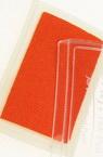 Тампон с пигментно мастило 6x3.8 см цвят оранжев