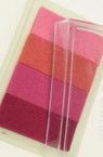 Tampon cu cerneală pigmentară 6x3,8 cm - gama 4 culori roz