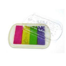 Pigment ink pad 10.1x6.4x1.6 cm -4 colors