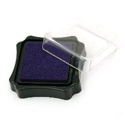 Pigment ink pad 6.2x2.1 cm purple