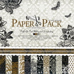 Designer paper set for scrapbooking 12 inch (30.5x30.5 cm) 12 designs x 2 sheets and 3 punched sheets