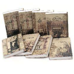 Σημειωματάριο vintage memories 16x11x1.6 cm
