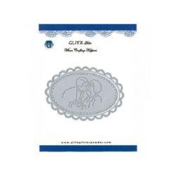 Metal paper cutting die 11.8 x 8.1 cm