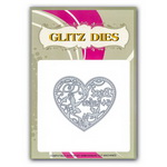 Decorative Cutting Die 7x7.9 cm heart