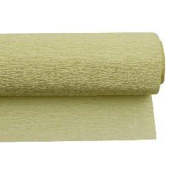Crepe Paper Fold Yellow 50x230 cm
