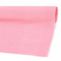Crepe Paper Fold Pink 50x230 cm