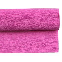 Crepe Paper Fold Cyclamen Color 50x230 cm