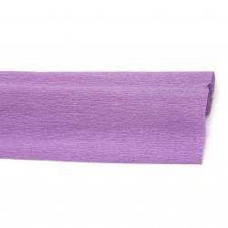 Crepe Paper Fold Purple 50x230 cm