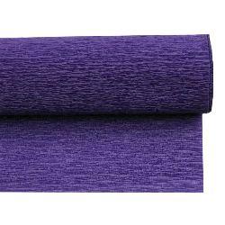 Crepe Paper Fold Dark Purple 50x230 cm