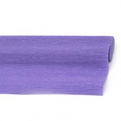 Креп хартия 50x250 см синьо-лилава