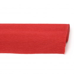 Crepe Paper Fold Red 50x230 cm