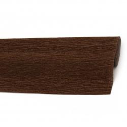 Crepe Paper Brown 50x230 cm