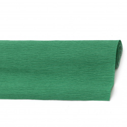 Crepe Paper for Decoration 50x230 cm green