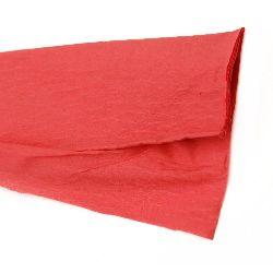 DIY Crepe paper fine 50x100 cm red
