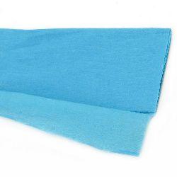DIY Crepe paper fine 50x100 cm blue light